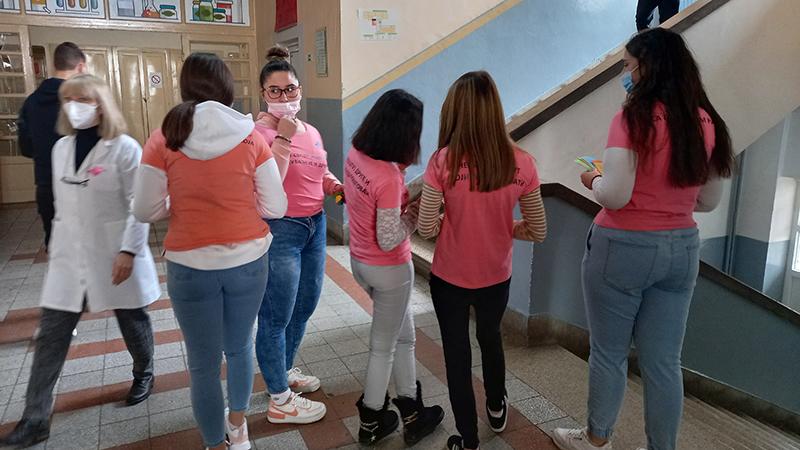 Dan roze majica u Tehničkoj školi u Boru