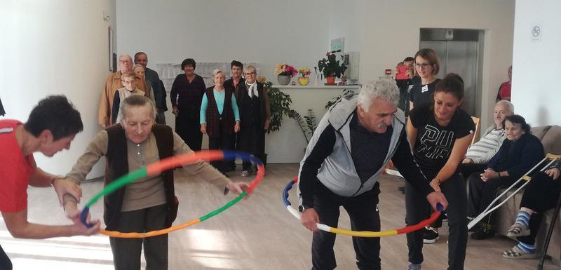 Dan sportskih aktivnosti za stare iz pljevaljskog Doma