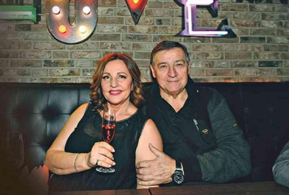 Dan su započeli poljupcima: Ana Bekuta i Milutin Mrkonjić na Dan zaljubljenih proslavili pet godina ljubavi