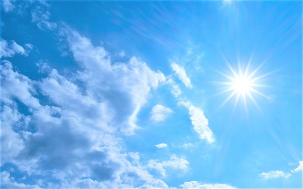 Danas promenljivo oblačno sa sunčanim intervalima,do 30 stepeni