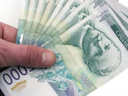 Danas isplata 16.000 dinara  za više od milion zaposlenih