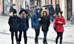 Danas naoblačenje s kišom, na planinama susnežica i sneg