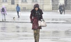 Danas oblačno ponegde sa snegom i kišom