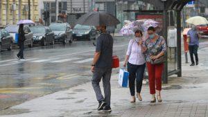Danas oblačno povremeno sa kišom, temperatura do 23 stepena