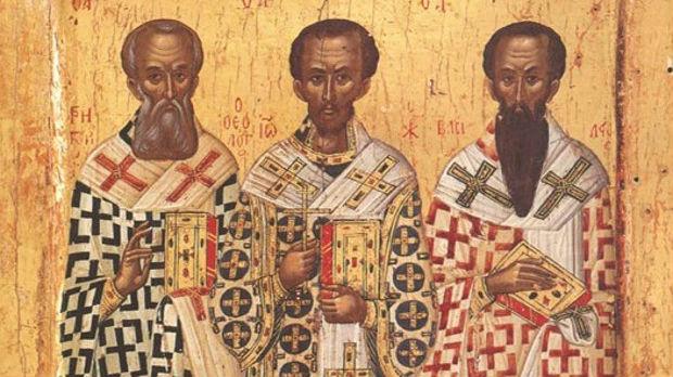 Danas su Tri jerarha