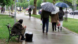 Danas u Srbiji oblačno, nestabilno, mestimično kiša