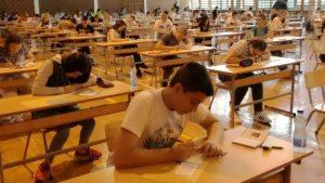 Danas za osmake ispit iz matematike
