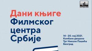Dani knjige Filmskog centra Srbije od 14. do 20. maja na Trgu Nikole Pašića
