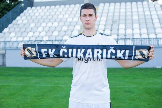 Danilo Pantić zvanično u Čukaričkom