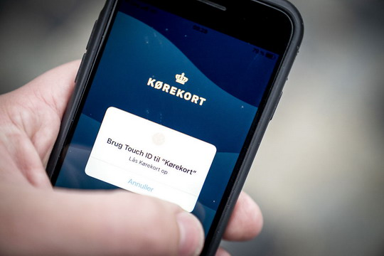 Danska uvodi električne vozačke dozvole