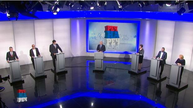 Debata Reč na reč – predstavnici lista o posledicama pandemije