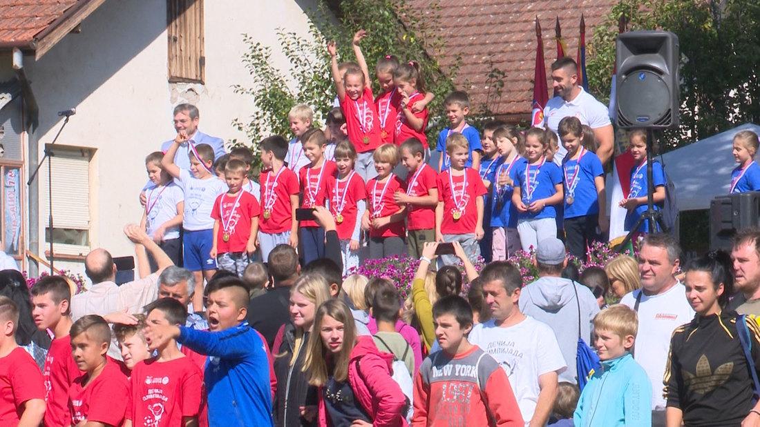 Dečija olimpijada za mališane Srbobrana, Nadalja i Turije