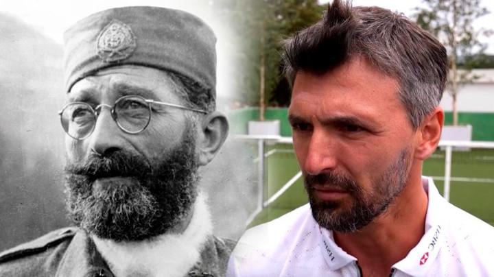 Deda Gorana Ivaniševića bio je četnik blizak Draži Mihailoviću i nosio je počasnu titulu četničkog vojvode!