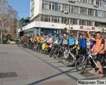 Defile niških biciklista