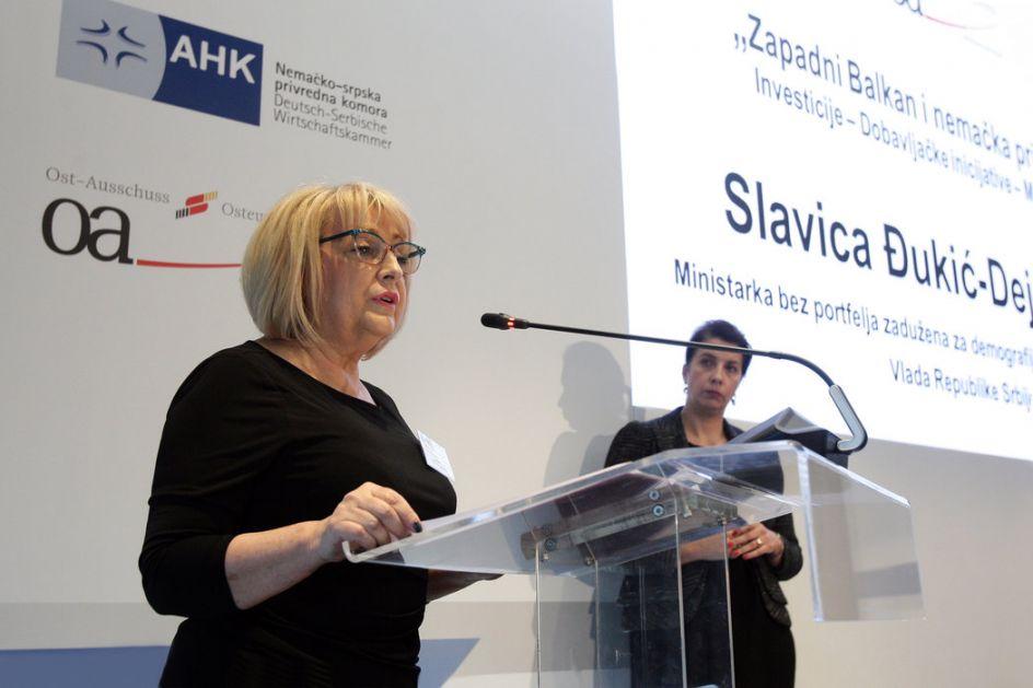 Dejanović: Verujem da Srbija ima manje od 7 miliona stanovnika