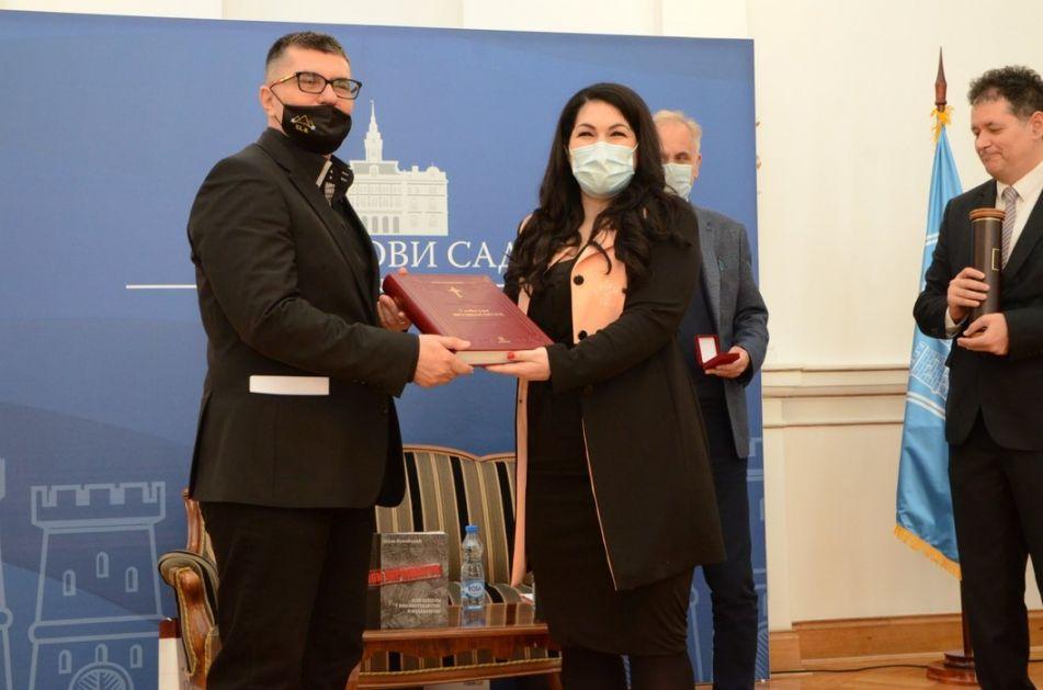 Dejanu Vukićeviću uručena nagrada Dejan Medaković