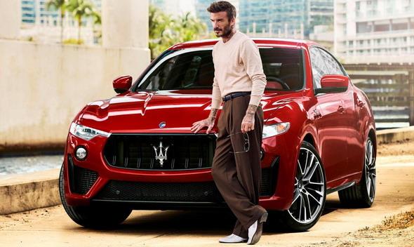 Dejvid Bekam je novi brend ambasador Maseratija