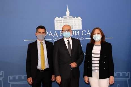 Delegacija Evropske banke u poseti Novom Sadu