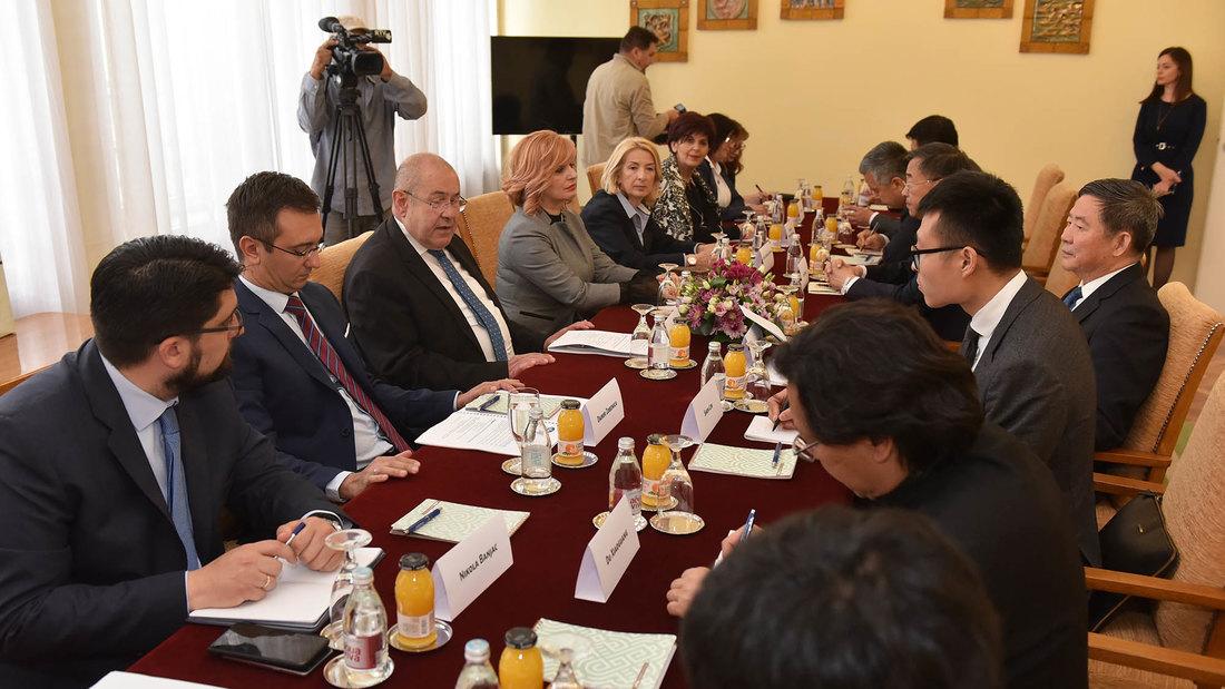 Delegacija Svekineskog narodnog kongresa posetila Skupštinu Vojvodine