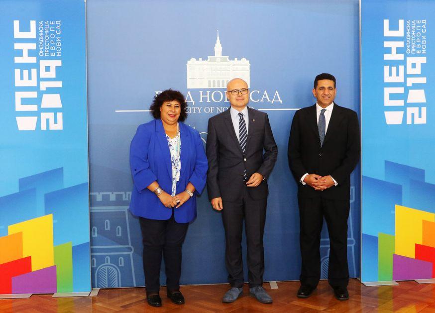 Delegacija ministarstva kulture Egipta u Novom Sadu