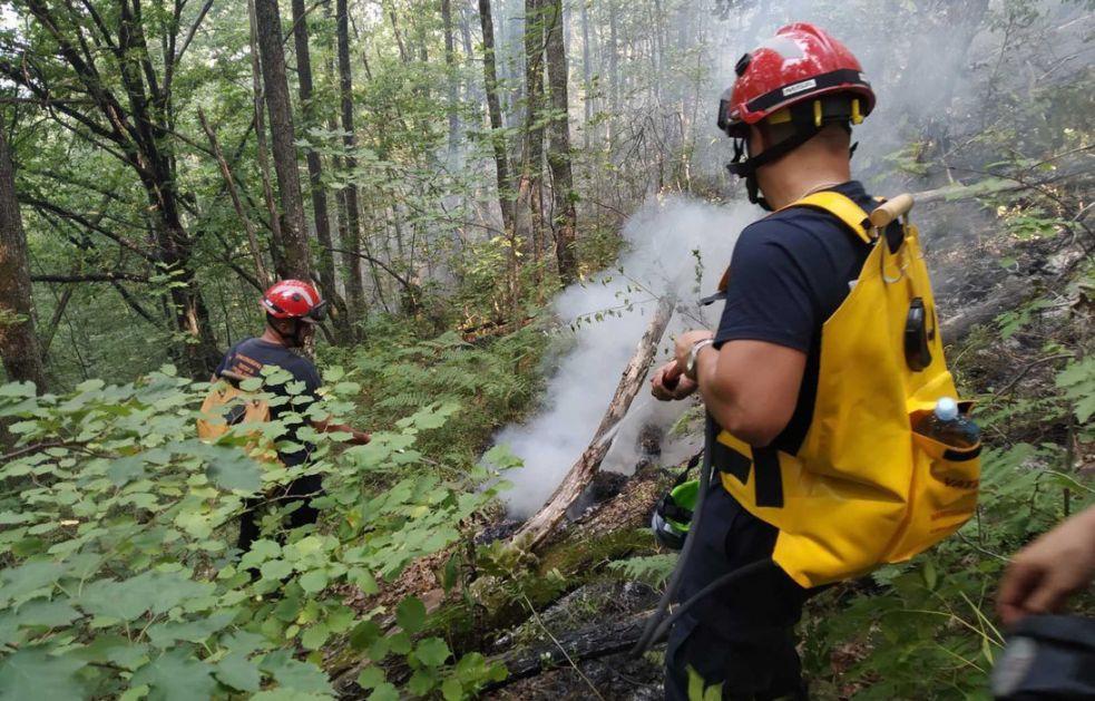 Delimično prigušen požar kod Nove Varoši; Kuće nisu ugrožene