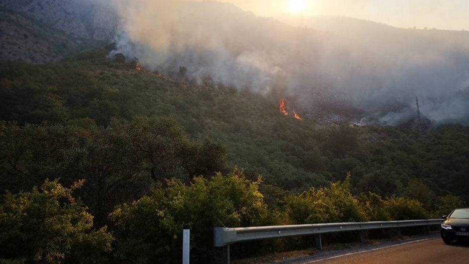 Delovi Hrvatske u plamenu, vatru gasi i vojska