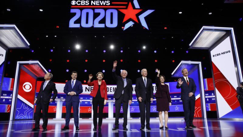 Demokratski predsednički kandidati kažu da lider u trci Berni Sanders ne može da pobedi Trampa
