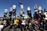 Demonstracije protiv samita G7; Tusk: Težak test za jedinstvo i solidarnost