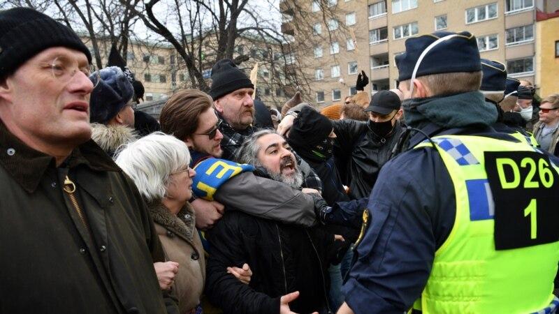 Demonstracije u Stokholmu zbog mjera protiv korone