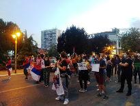 """Demonstranti poručili: """"Pravdo počivaj u miru"""""""