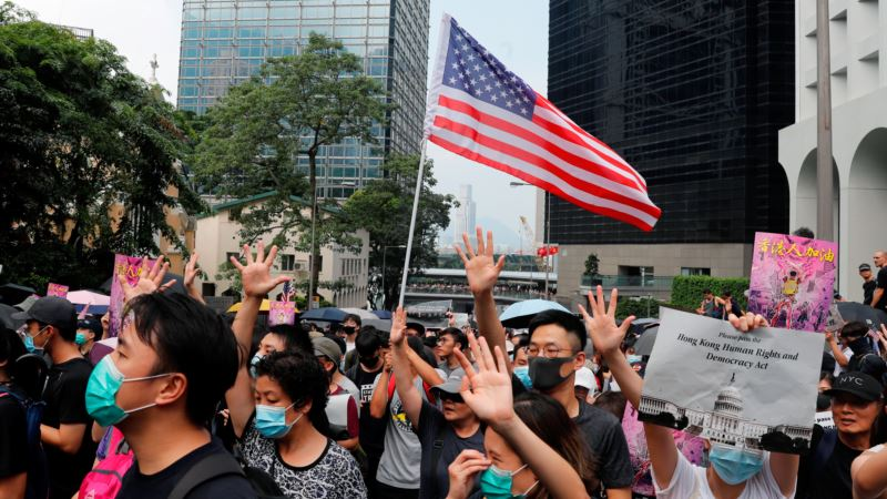 Demonstranti u Hongkongu traže pomoć SAD
