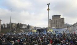 Demonstranti u Kijevu zahtevaju da Zelenski brani interese Ukrajine na samitu u Parizu
