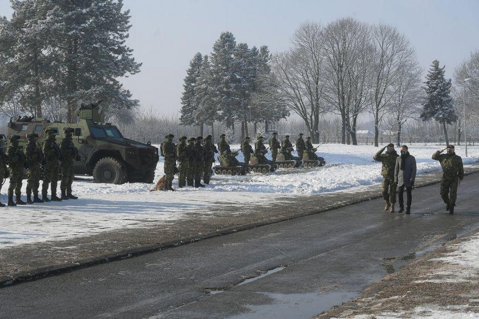 Deset novih Miloša za 72. brigadu za specijalne operacije