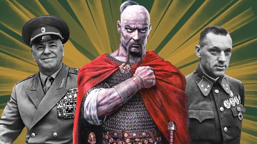 Deset velikih vojskovođa od osnivanja Rusije do danas