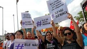 Desetine hiljada žena na ulicama Brazila