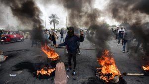Desetine ranjene na novim protestima u Iraku