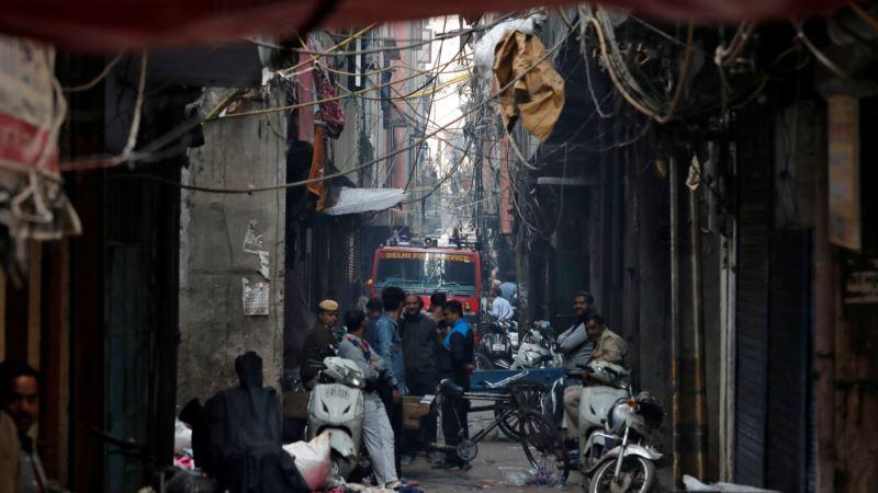 Desetine žrtava požara u indijskoj prestonici