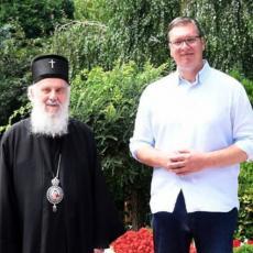 Detelji sastanka Irineja i Vučića: Razgovori o KiM su neizvesni, stanje je vrlo teško