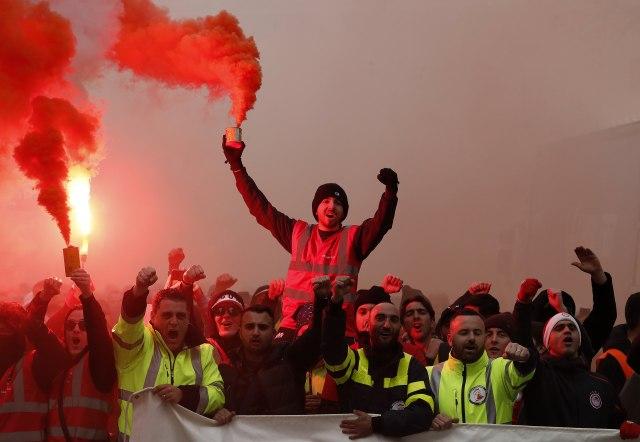 Deveti dan štrajka u Francuskoj: Sindikati i dalje nezadovoljni