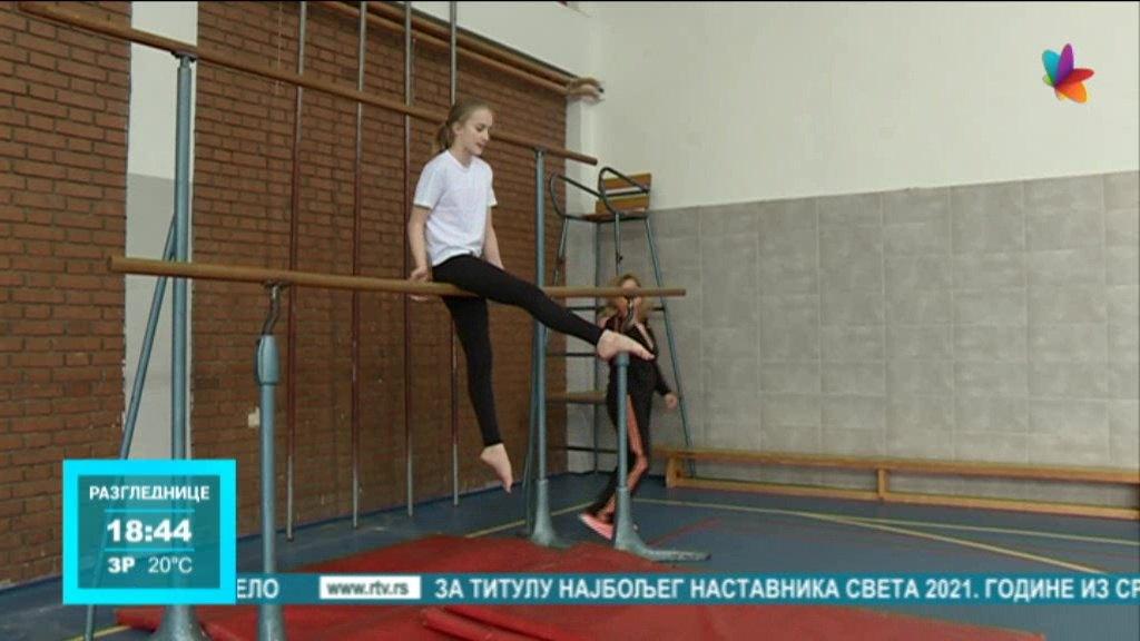 Devojčice iz OŠ Svetozar Marković Toza državne prvakinje u gimnastici