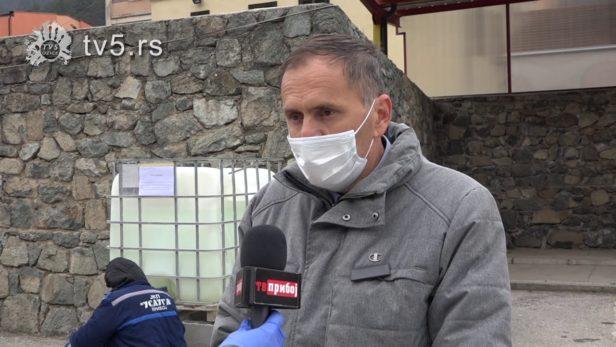 Dezinfekcija javnih objekata i površina u Priboju