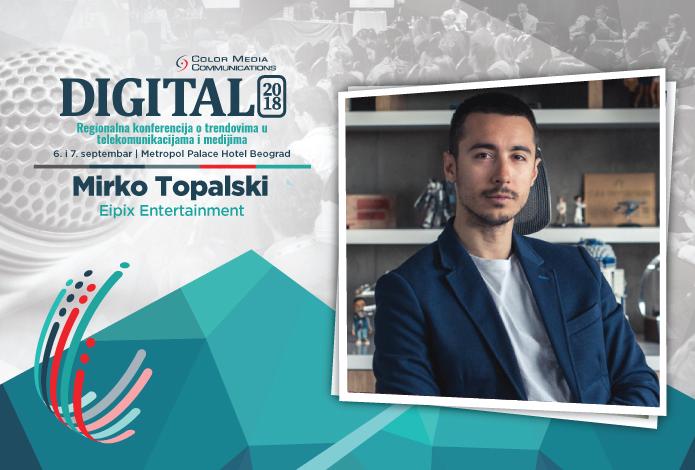 """Digital 2018 – Mirko Topalski: Glavna prednost naših IT kadrova je ta što su """"gladni"""" uspeha"""