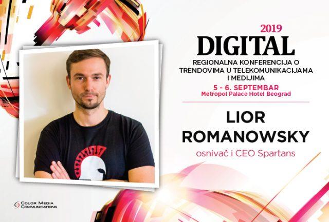 Digital2019 – Lior Romanowsky: Možemo li da razumemo simbiozu marketinga i novih tehnologija?
