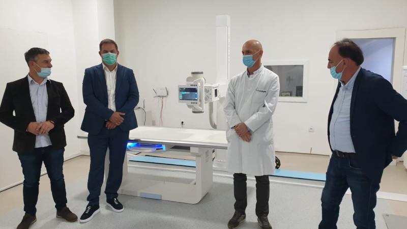 Digitalni rendgen aparat, donacija Prijepoljca Ferhada Mekića, zvanično pušten u rad
