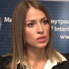 Dijana Hrkalović podnela ostavku i raskinula radni odnos u MUP-u
