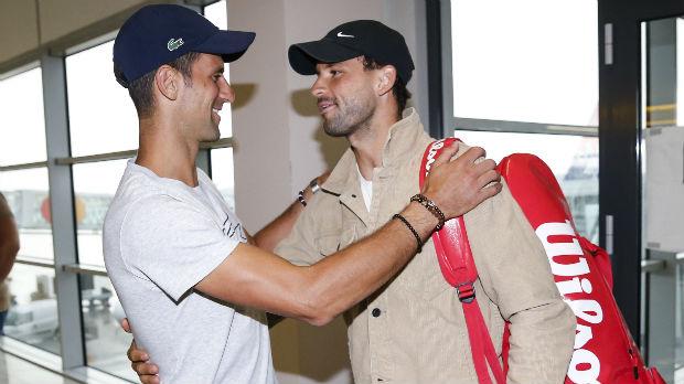 Dimitrov stigao u Beograd, Đokovići ga dočekali na aerodromu
