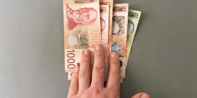 Dinar bez promene, kurs sutra 118,2366