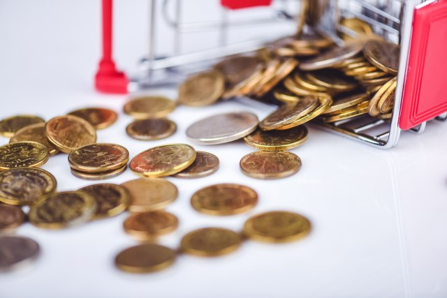 Dinar sutra bez promene, kurs 118,372