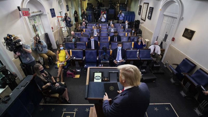 Direktor Glasa Amerike promenio zaduženja reporterke iz Bele kuće