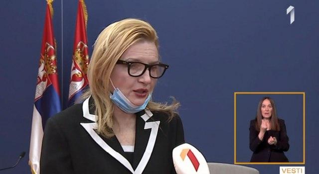 Direktorka Batuta: Krizni štab razmatrao nove mere i procedure